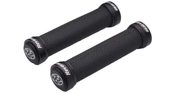 Reverse Classic Lock-On fietshandgreep zwart